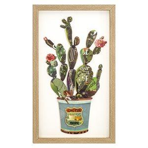 Cactus Collage I