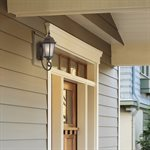 Brielle Collection Eight-Inch Fluorescent Exterior